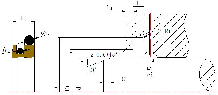 DPR-Cylinder Wiper Ring Dustproof Scraper Seal-07