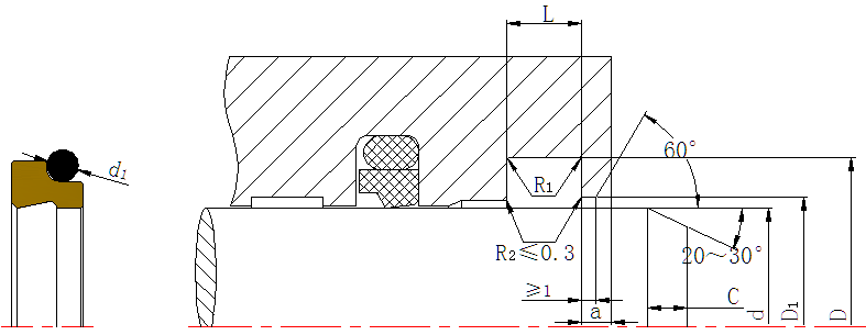 DSZL - Hydraulic PTFE Dust Wiper Seals-detail-06