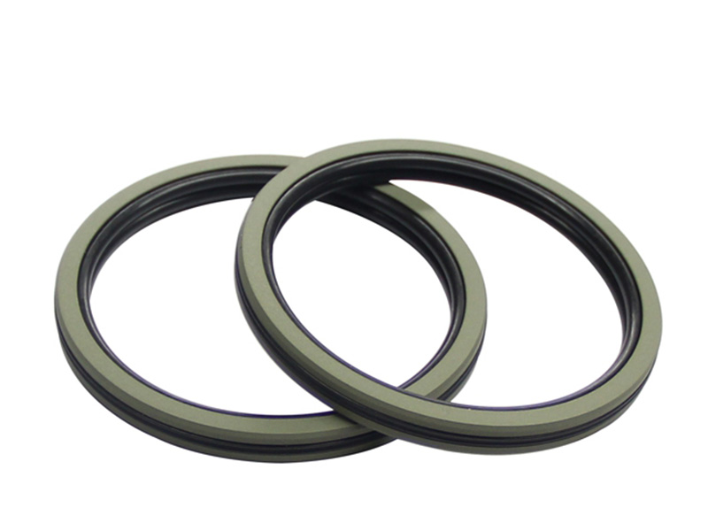 DSH-Pneumatic Piston Seal | Dqf-bronze Filled Ptfe Nbr Compact Seal-1