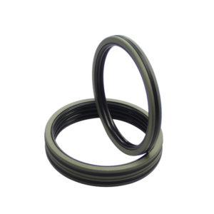 DQF-Bronze Filled PTFE NBR Compact Piston Seal